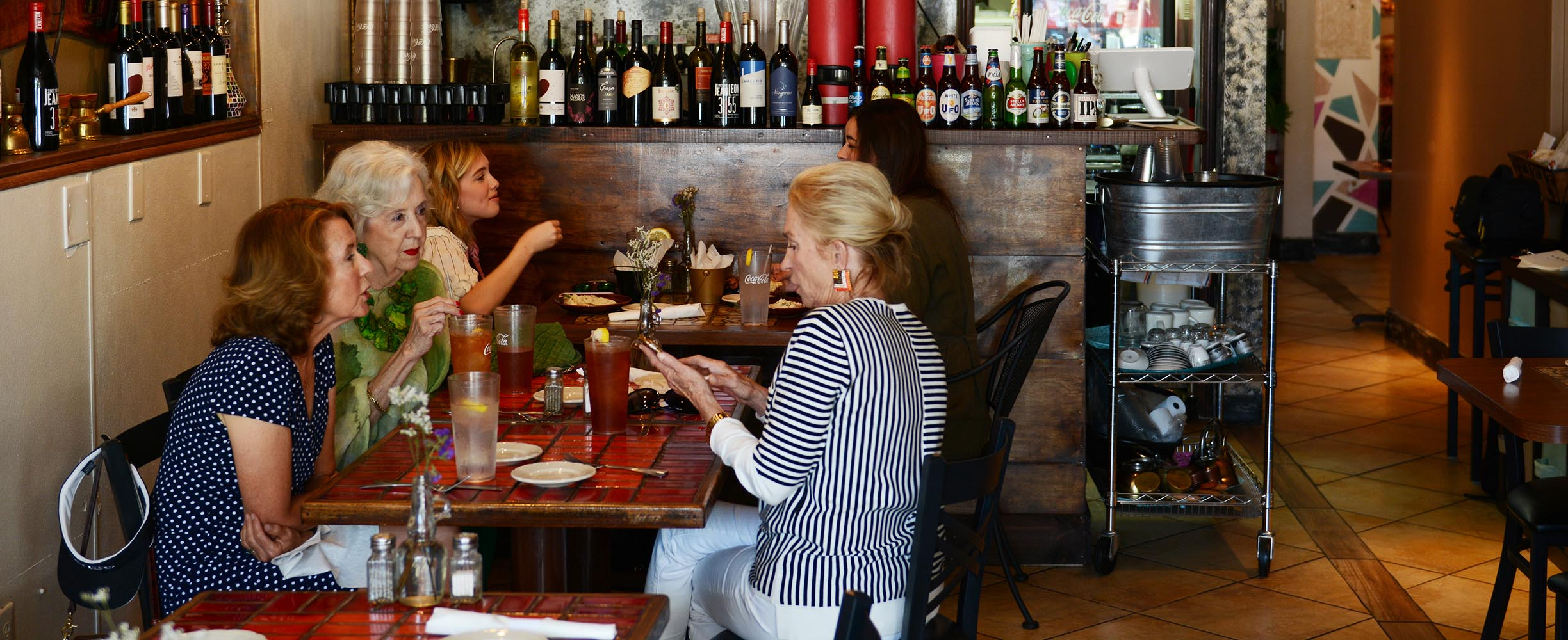 We love to see that people from all ages come to our restaurant in Fairhope!